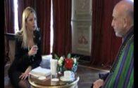 Afganistan Devlet Başkanı Karzai ile Özel Röportaj