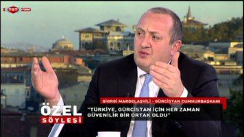 Margelaşvili Özel Röportajı